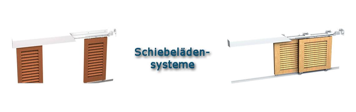 Schiebelädensysteme